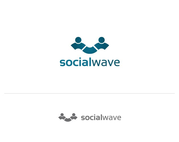 Social Wave Logo