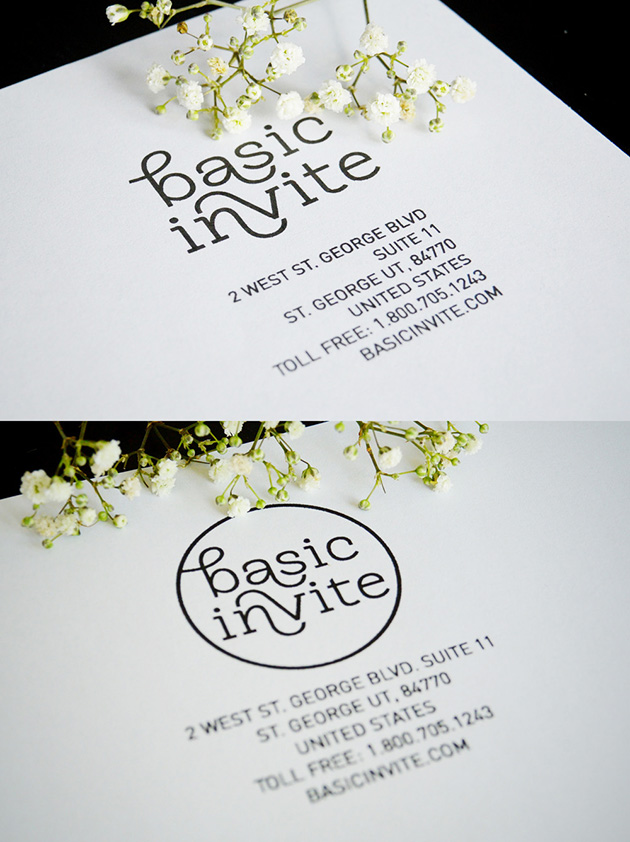Basic Invite – rebranding