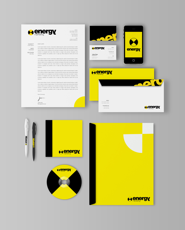Energy Marketing Branding