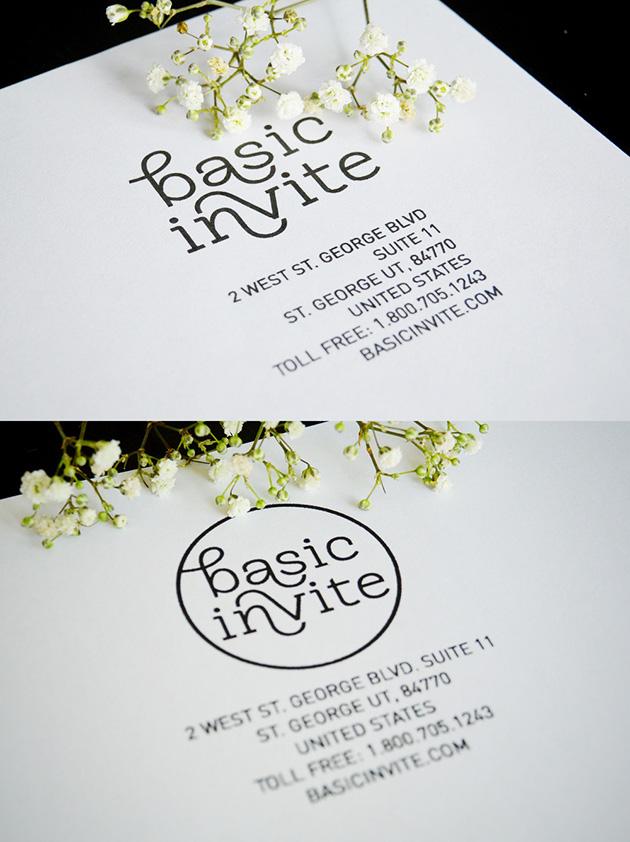 Basic Invite – rebranding